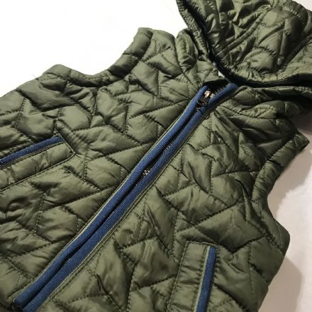0-3 Month Green Gilet